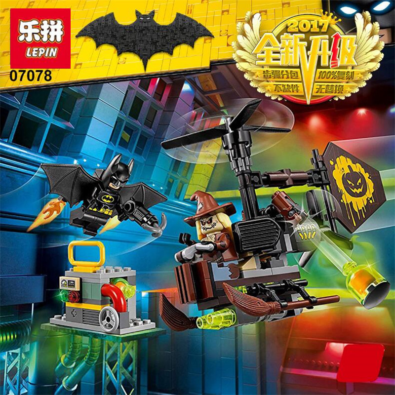 Lepin 07078 - Scarecrow Fearful Face-Off -156pcs.jpg