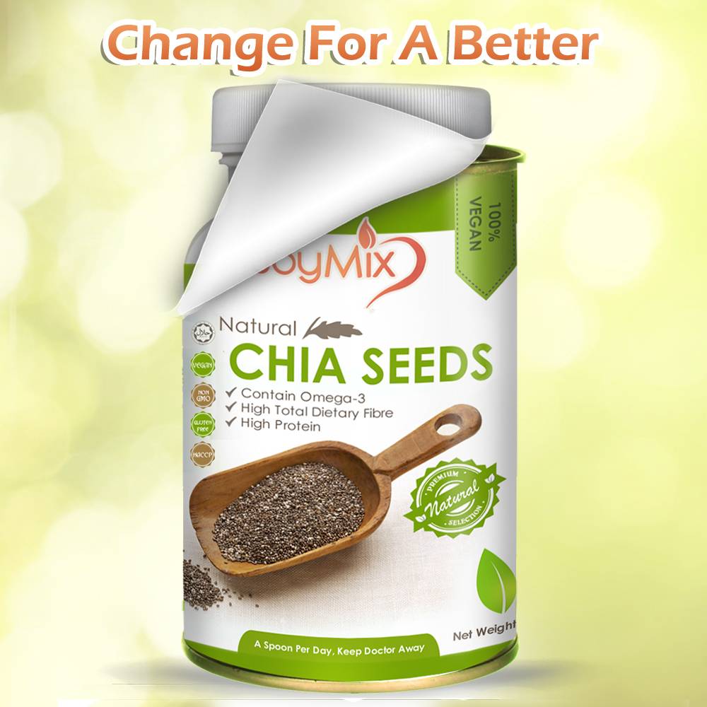 new chia seeds packaging