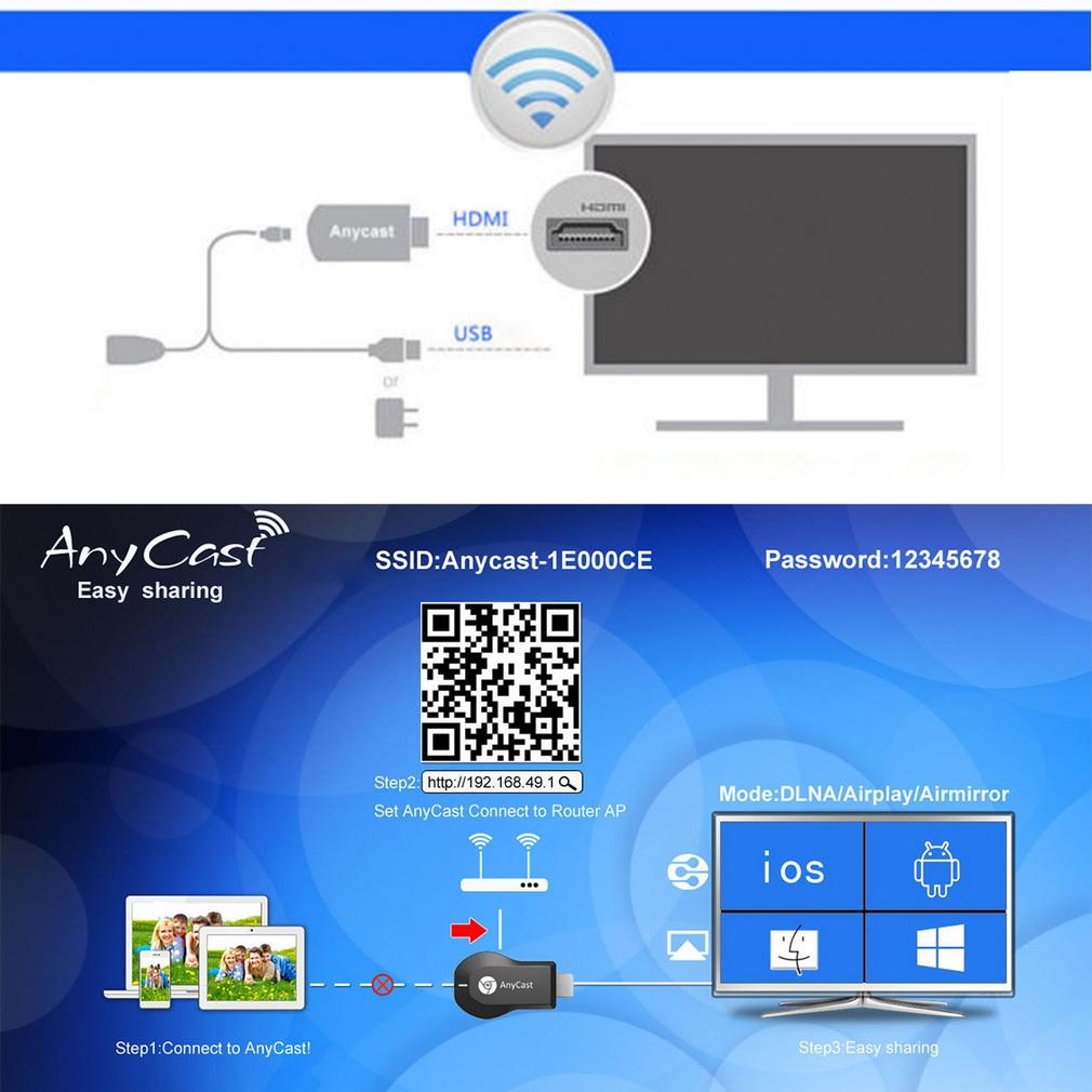 Anycast M2 Plus Dlna Airplay Wifi Di End 3 13 2020 904 Pm Dongle Wireless Hdmi Display Hd Tv