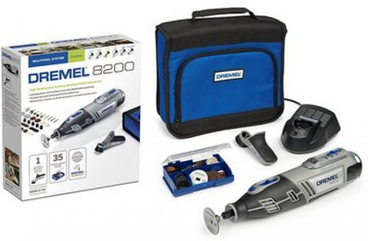 dremel 8200 1 35 10 8v cordless rotary multi tool my. Black Bedroom Furniture Sets. Home Design Ideas