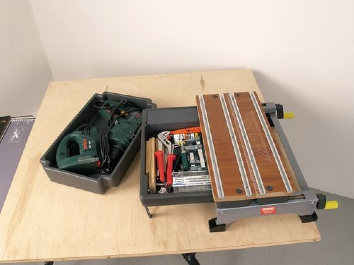 Kennedy 4 In 1 Portable Bench Top Workstation My Power Tools
