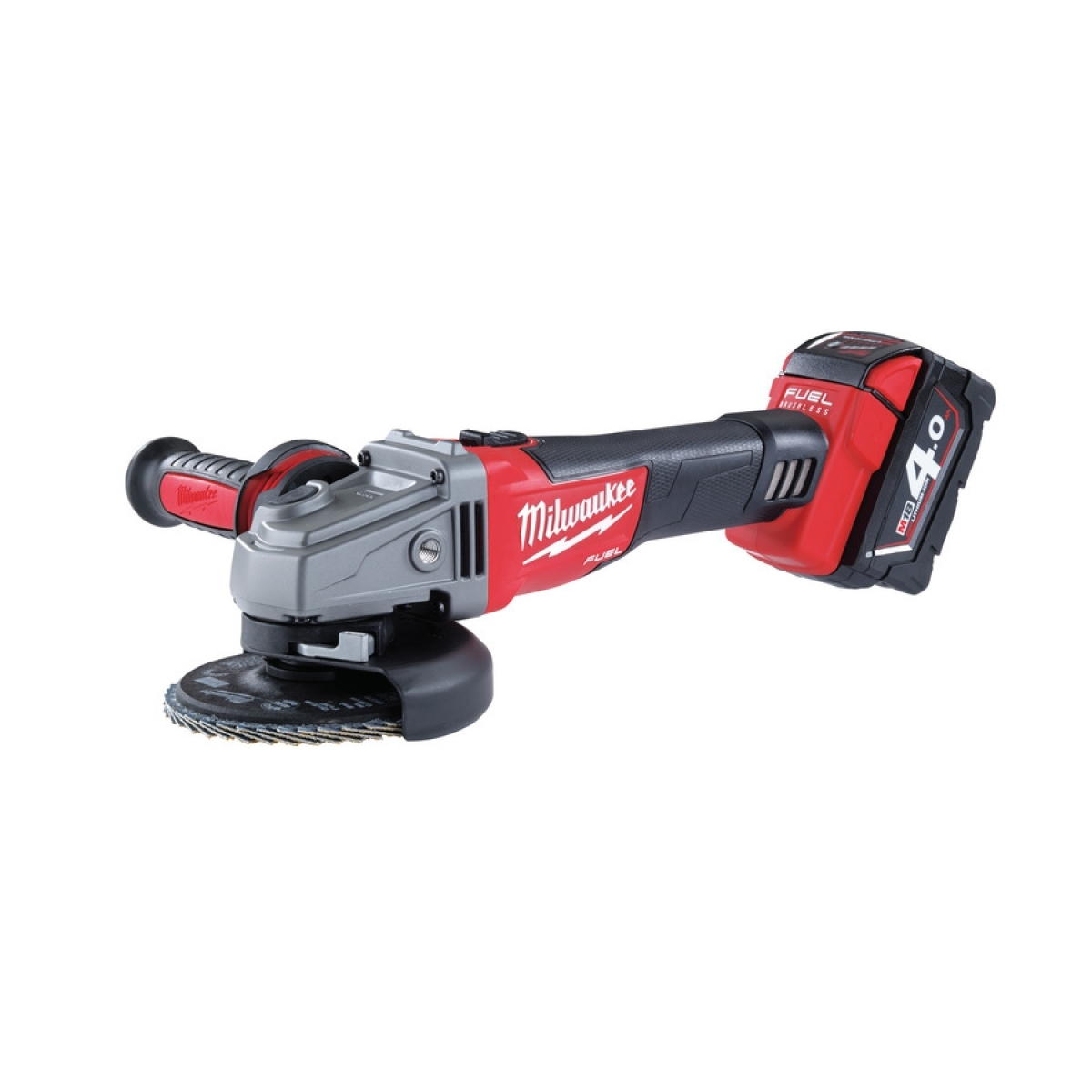 Battery Powered Grinder ~ Milwaukee m fuel mm cordless angle grinder my power