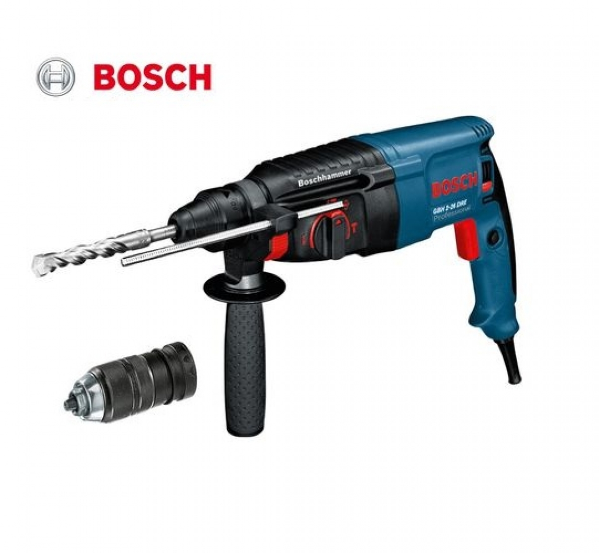 bosch gbh 800w 26mm sds plus rotary hammer my power tools. Black Bedroom Furniture Sets. Home Design Ideas