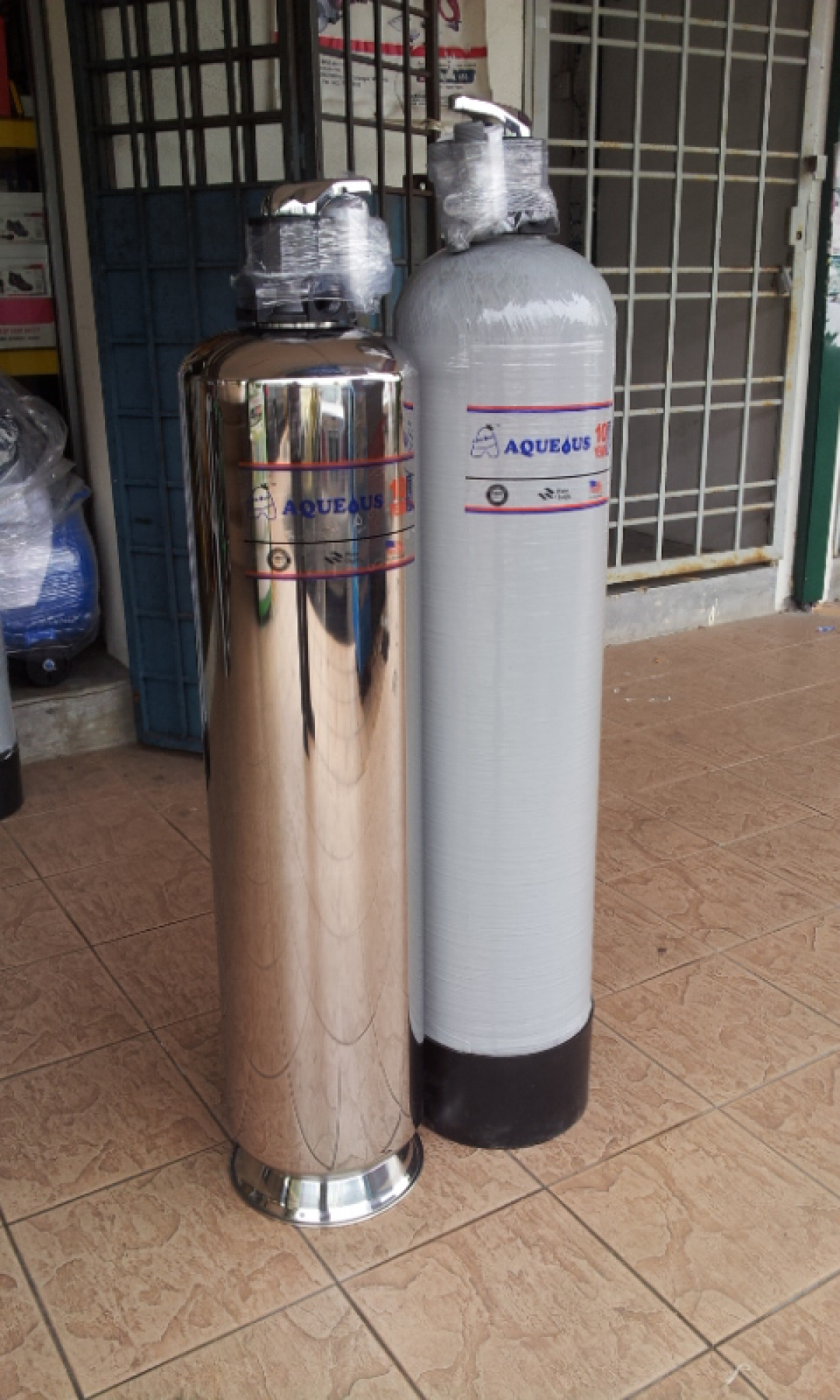Aqueous 10 Quot X 44 Quot Frb Outdoor Water Filtration System My