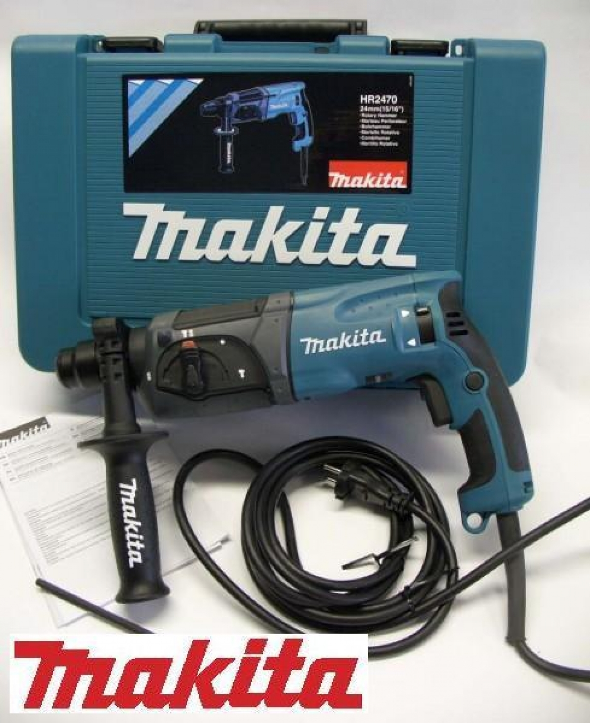 makita 780w 24mm combination rotary hammer my power tools. Black Bedroom Furniture Sets. Home Design Ideas