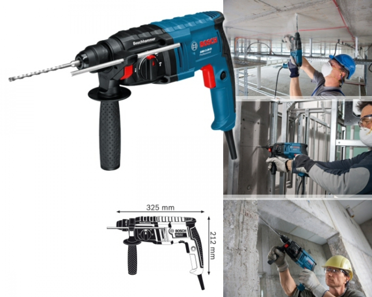 bosch 600w 20mm sds plus rotary hammer my power tools. Black Bedroom Furniture Sets. Home Design Ideas