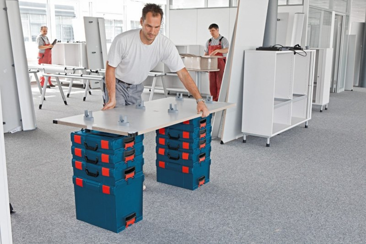 bosch l boxx 136 carrying cases my power tools. Black Bedroom Furniture Sets. Home Design Ideas