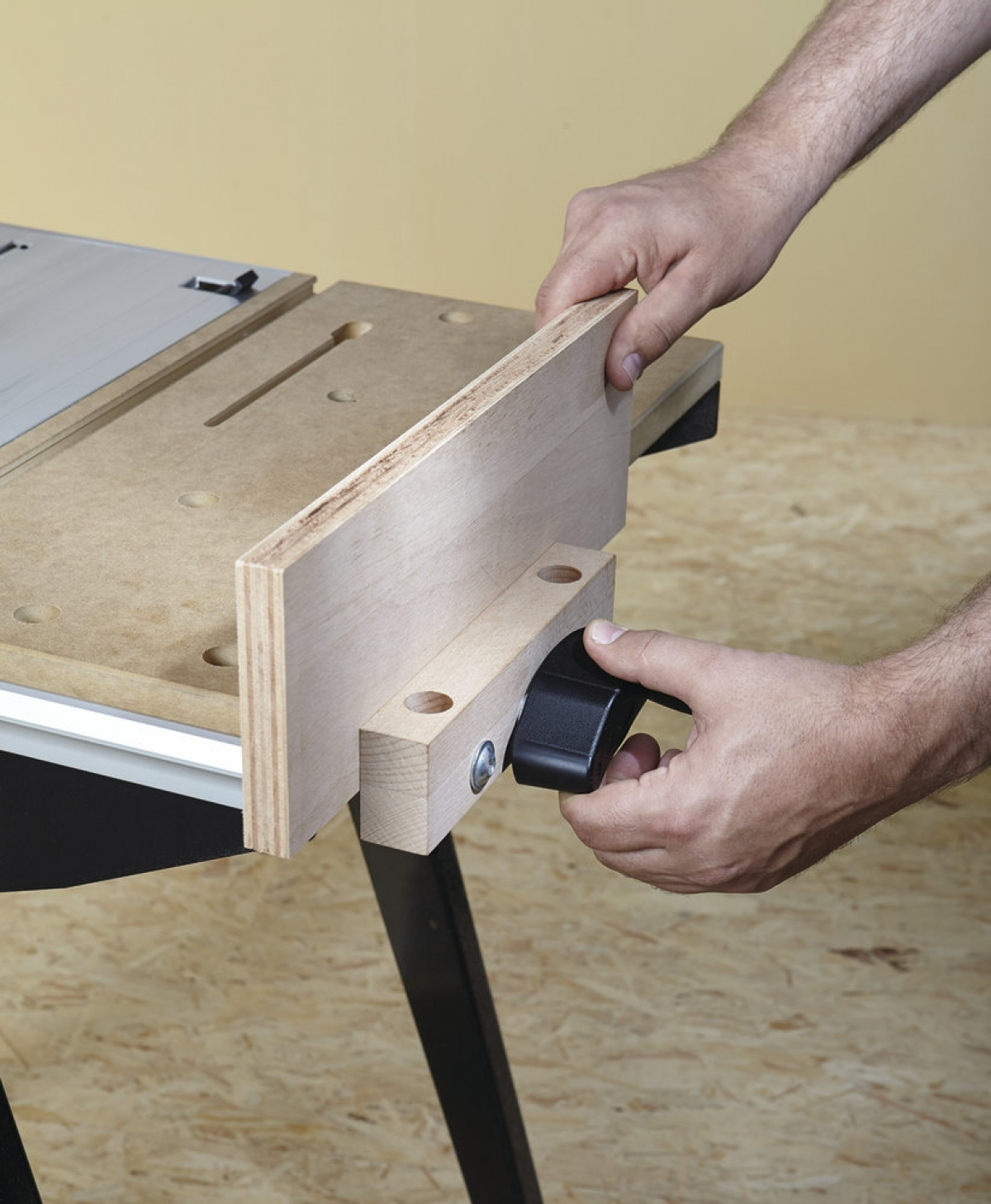 wolfcraft master cut 1500 work and machine table my power tools. Black Bedroom Furniture Sets. Home Design Ideas