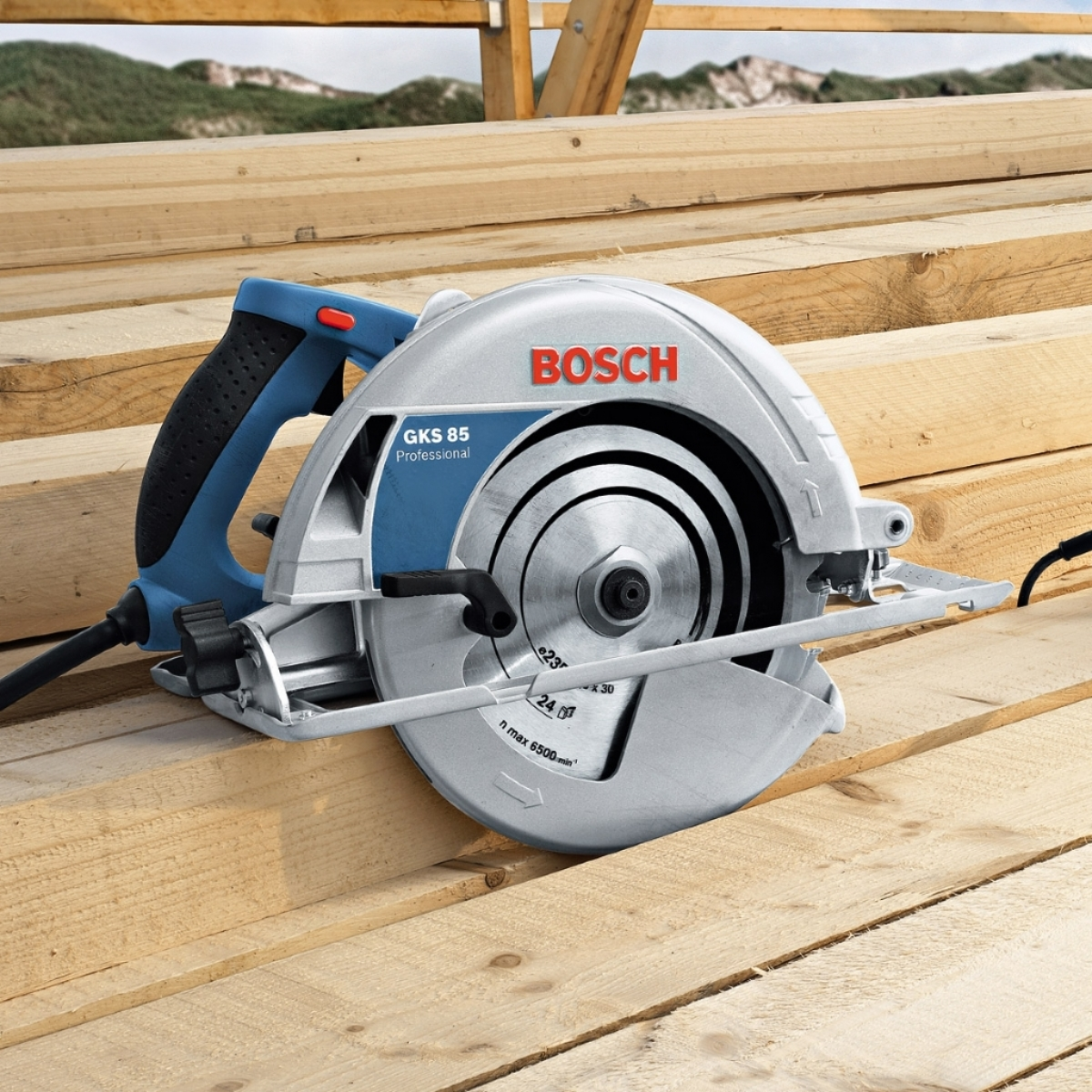 bosch gks 2 050w 235mm hand held circular saw my power tools. Black Bedroom Furniture Sets. Home Design Ideas