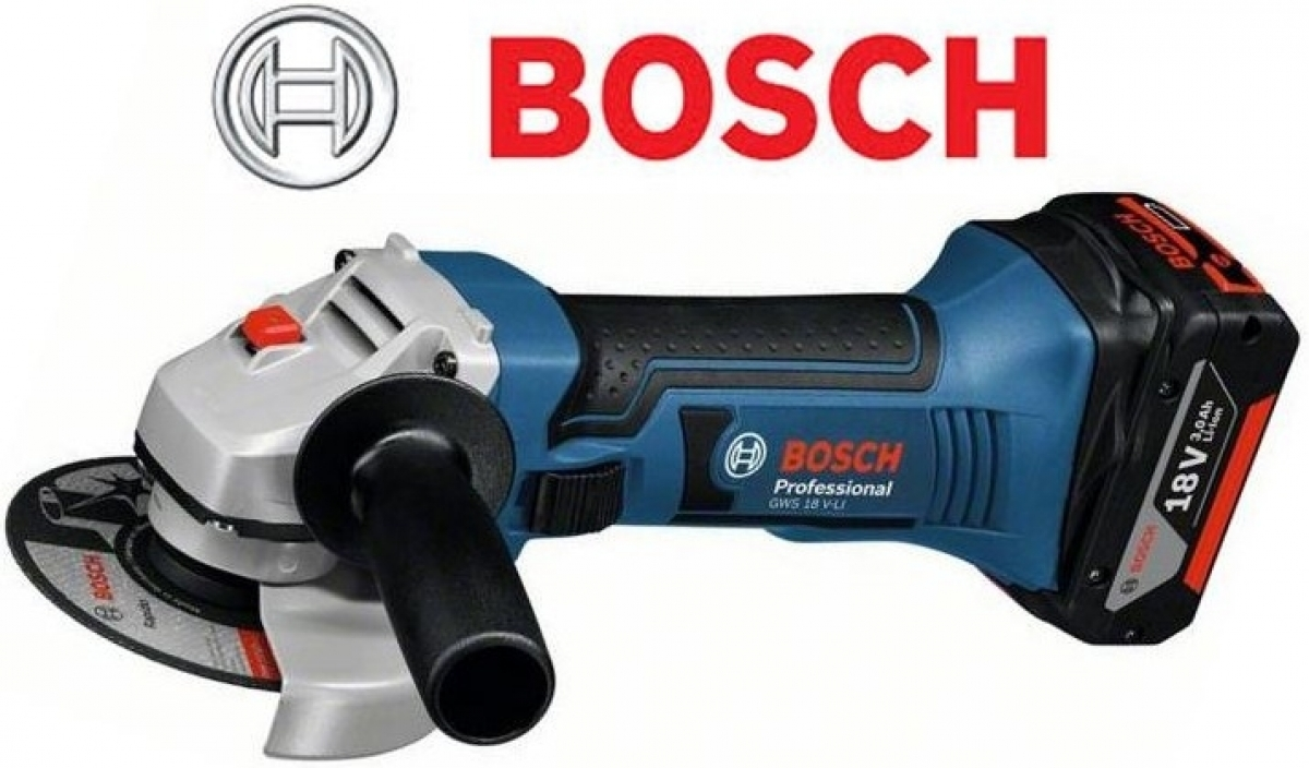 bosch gws 18v 4 cordless angle grinder solo my power. Black Bedroom Furniture Sets. Home Design Ideas