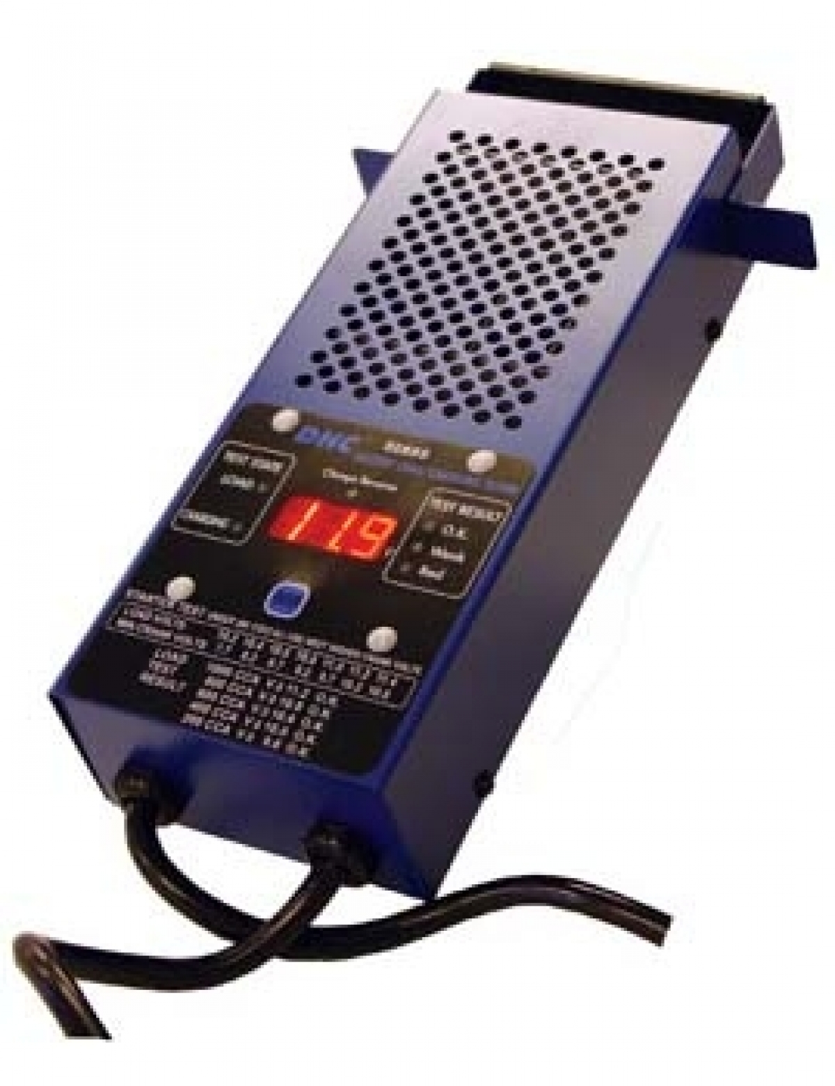 Electronic Battery Tester : Dhc v digital battery load tester charging system
