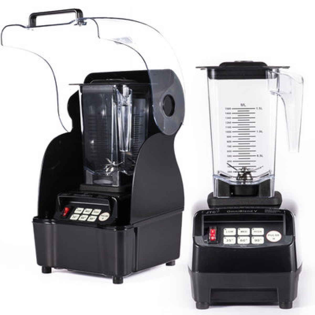 Industrial Kitchen Blender: Snova 3HP Digital Commercial Kitchen Blender With Sound
