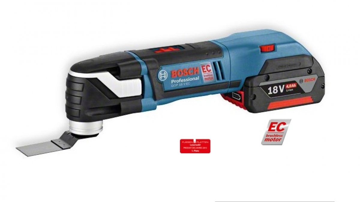 bosch gop 18v ec brushless cordless multi cutter solo my power tools. Black Bedroom Furniture Sets. Home Design Ideas