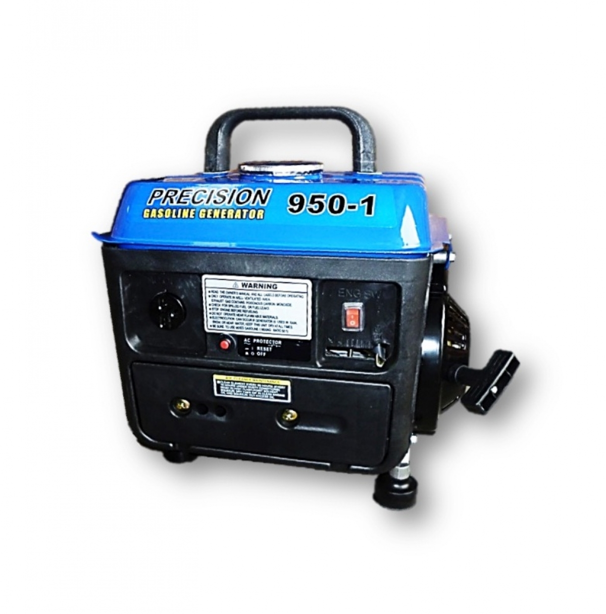 Precision 700w Portable Gasoline Generator My Power Tools