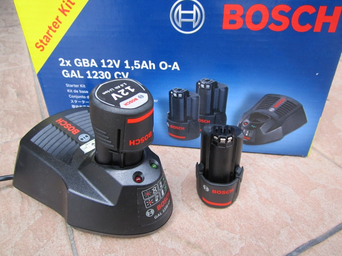 bosch 12v 1 5ah battery starter pack kits my power tools. Black Bedroom Furniture Sets. Home Design Ideas