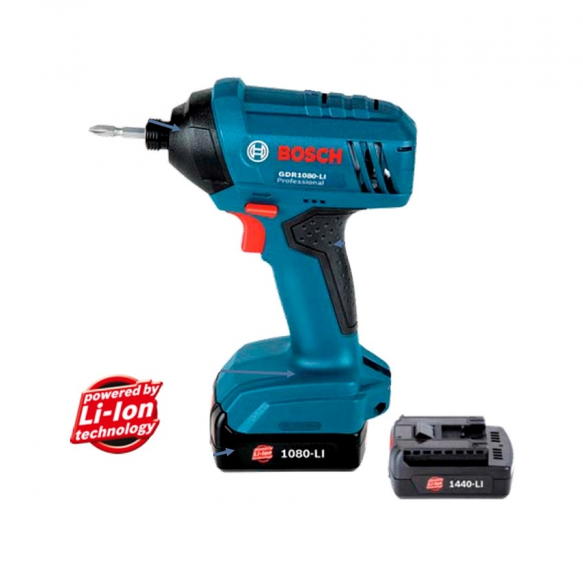 bosch gdr 10 8v cordless impact driver my power tools. Black Bedroom Furniture Sets. Home Design Ideas