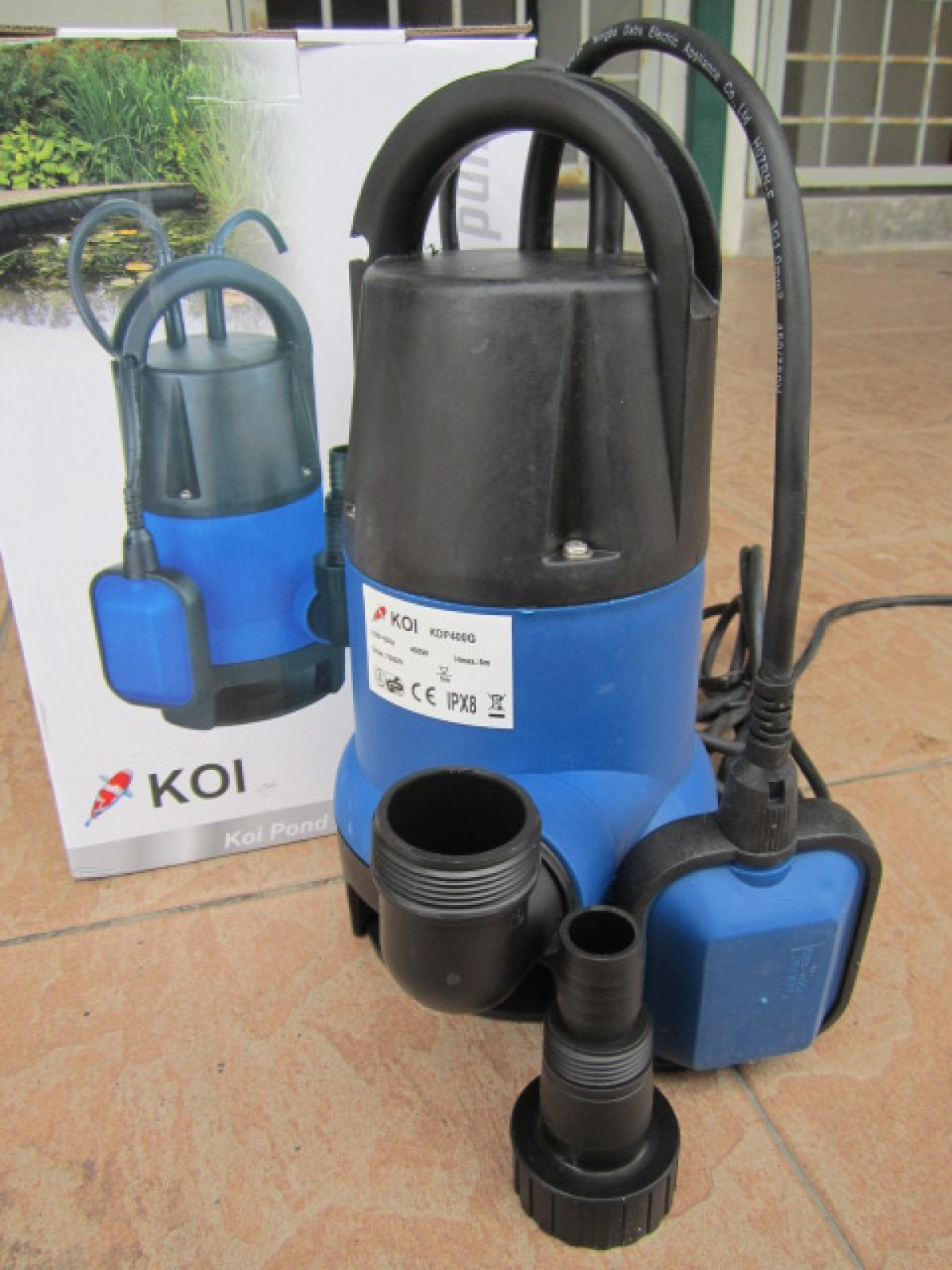 My professional 400w koi pond submersible pump my power for Koi pool pumps