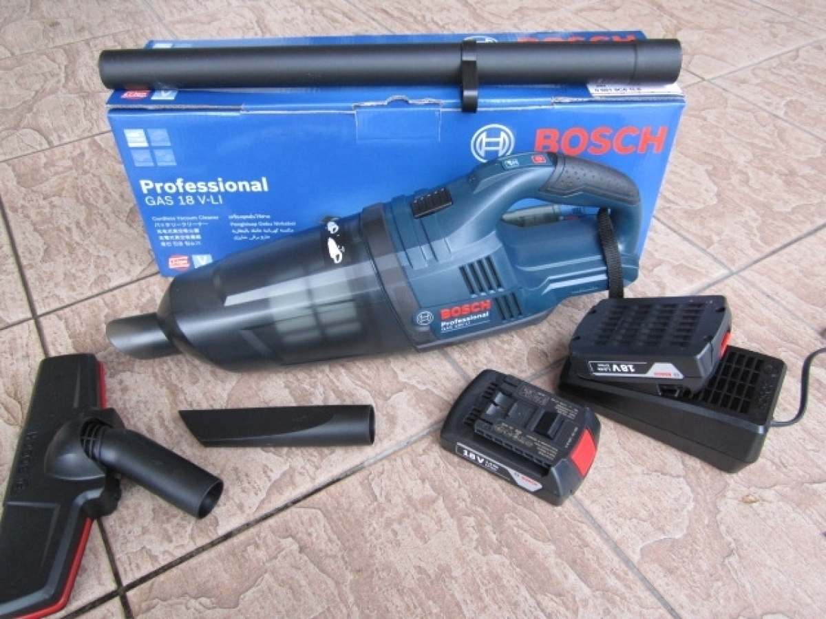 Bosch Gas 18v Li 2 Cordless Vacuum Cleaner Set My Power