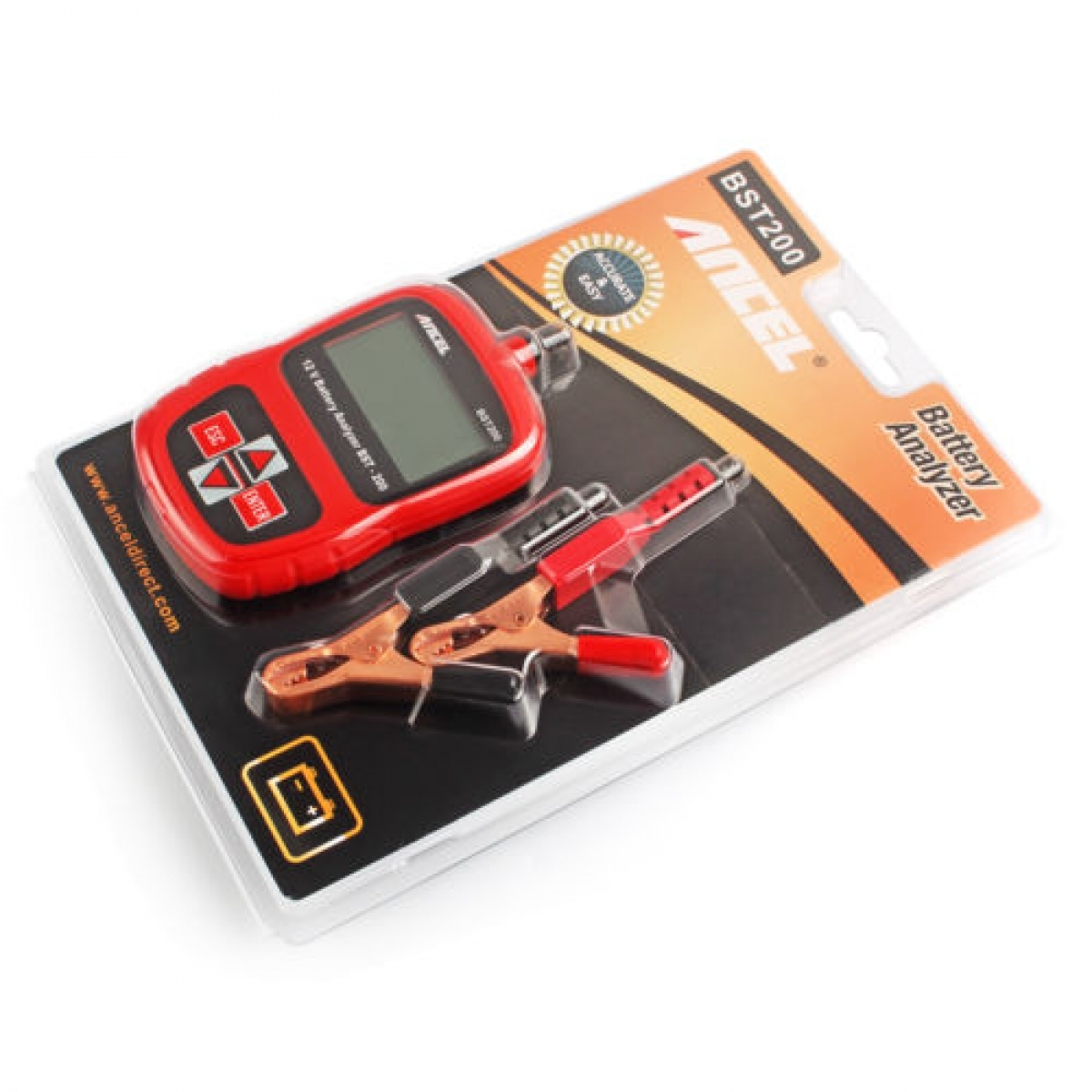 Vehicle Battery Tester : Ancel automotive v vehicle battery tester my power tools