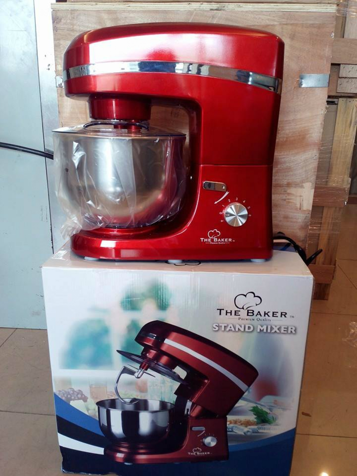 Simple Exhibition Stand Mixer : The baker w home kitchen stand mixer my power tools