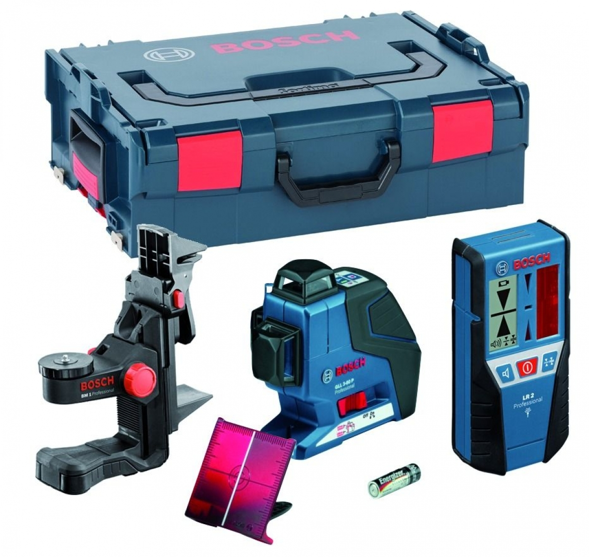 bosch gll 3 80 p multi line laser leveler my power tools. Black Bedroom Furniture Sets. Home Design Ideas