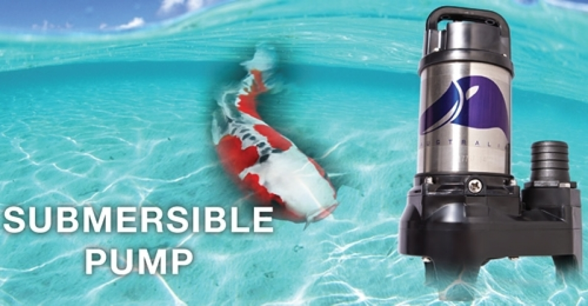 Vattenmec 150w fish pond submersible pump my power tools for Large fish pond pumps