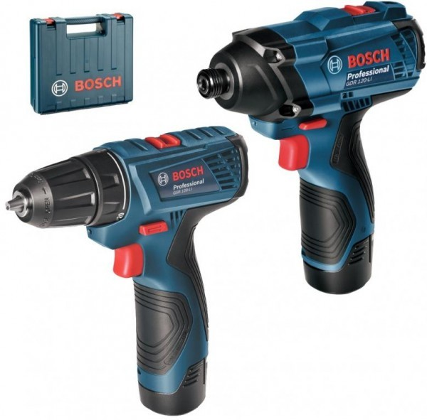 bosch 12v combo cordless drill driver impact driver my power tools. Black Bedroom Furniture Sets. Home Design Ideas