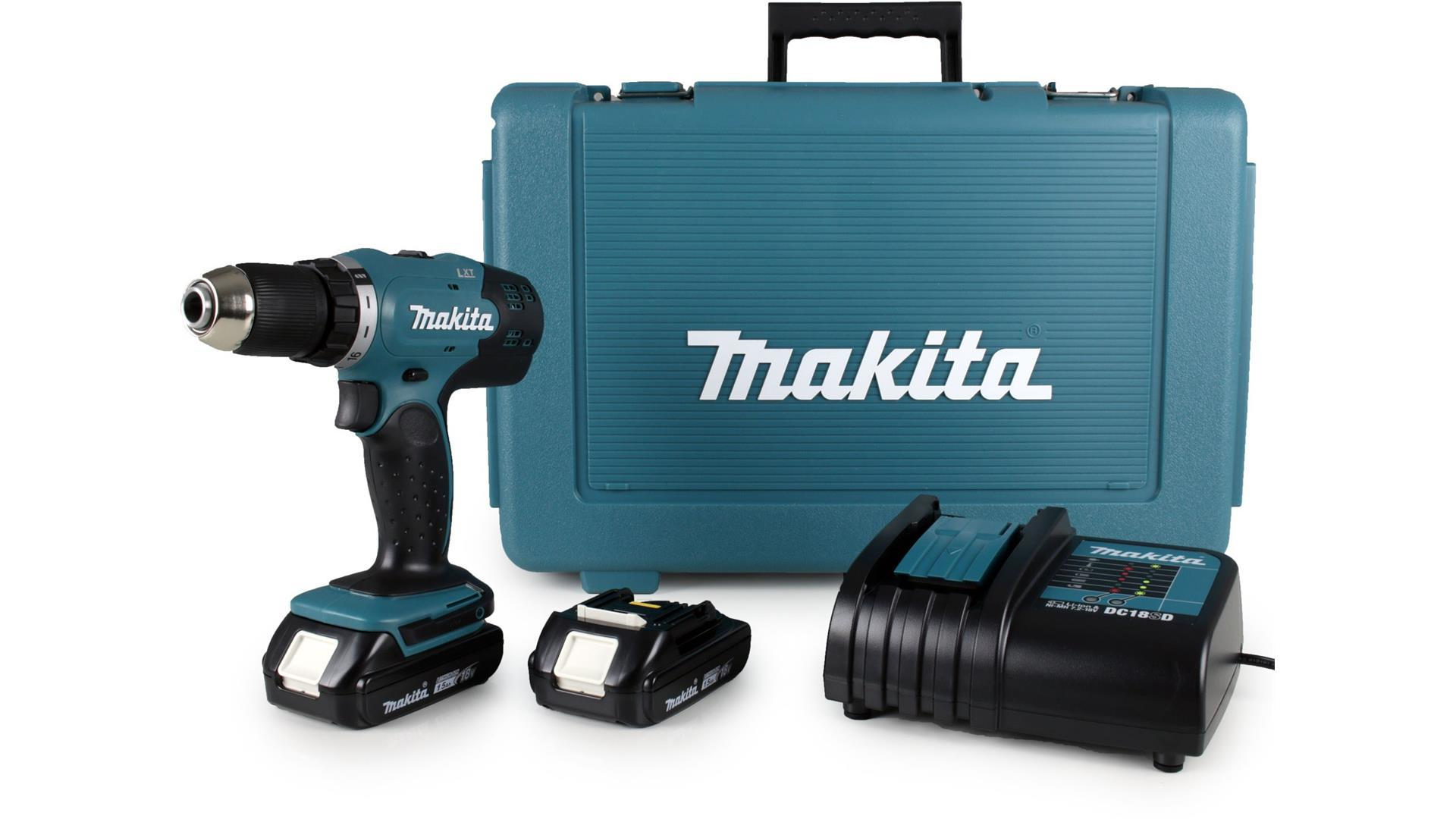 makita 18v 13mm cordless driver drill my power tools. Black Bedroom Furniture Sets. Home Design Ideas