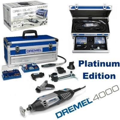 dremel 4000 6 128 platinum edition ultimate rotary multi tool my power tools. Black Bedroom Furniture Sets. Home Design Ideas