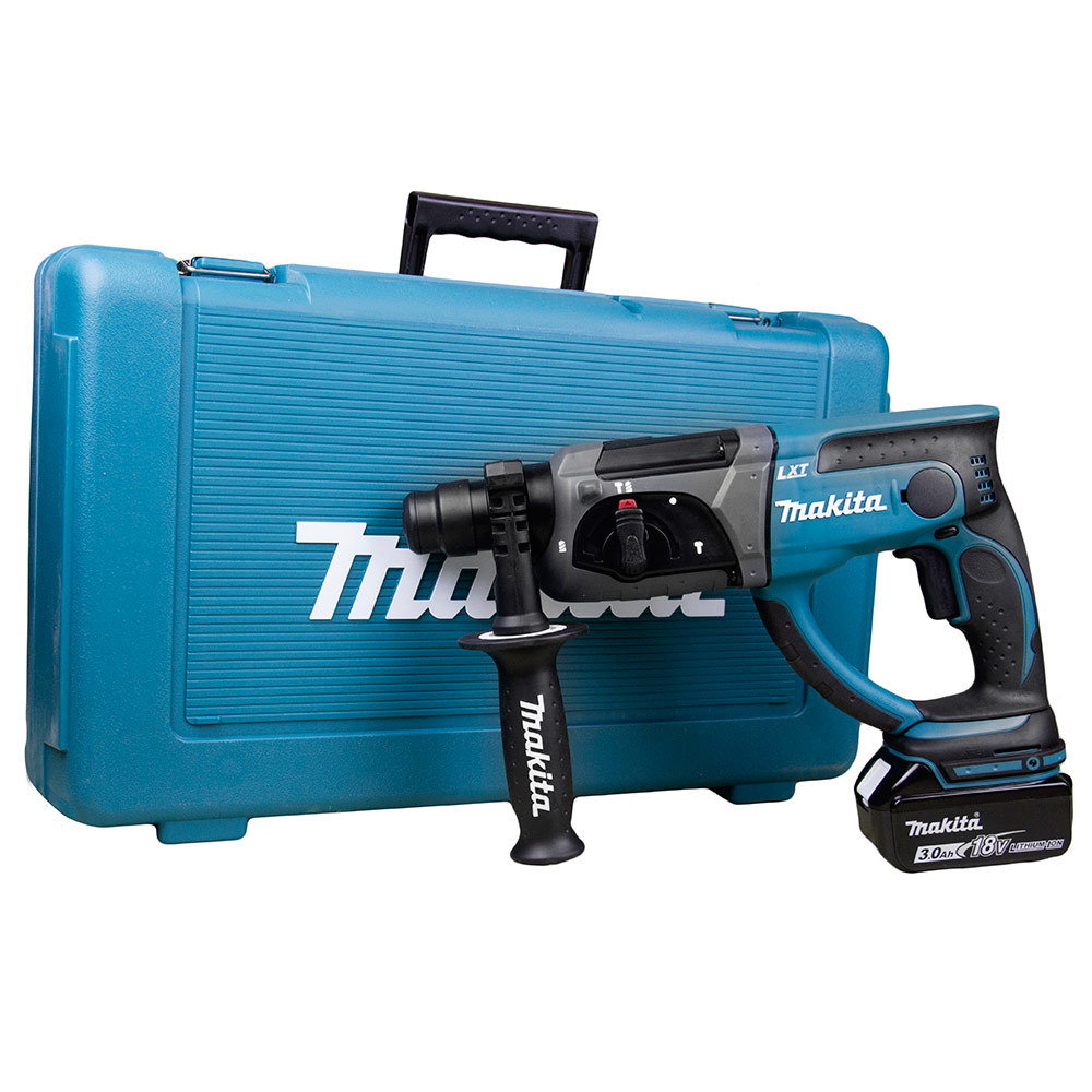 makita 18v 3 0ah cordless rotary hammer drill my power tools. Black Bedroom Furniture Sets. Home Design Ideas