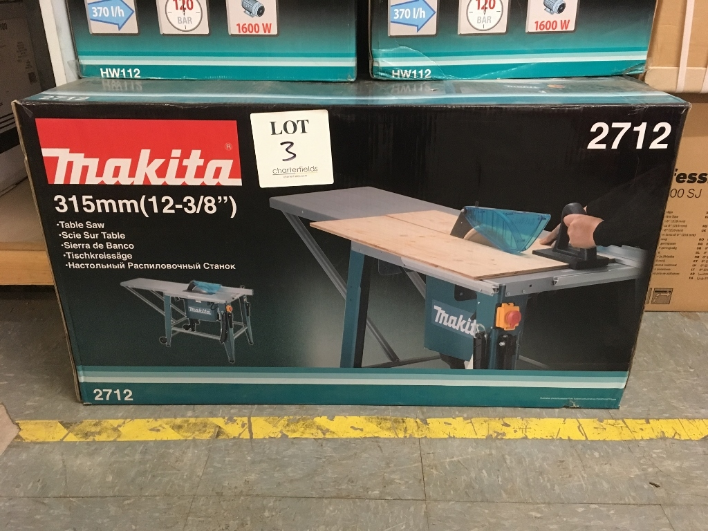 Makita 2000w 315mm induction site table saw machine my for Table induction