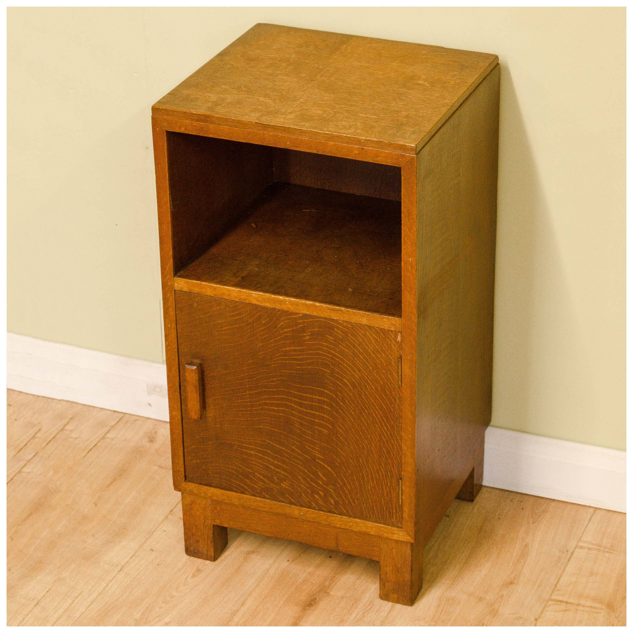 Heal And Co Ambrose Heal Arts And Crafts Oak Bedside