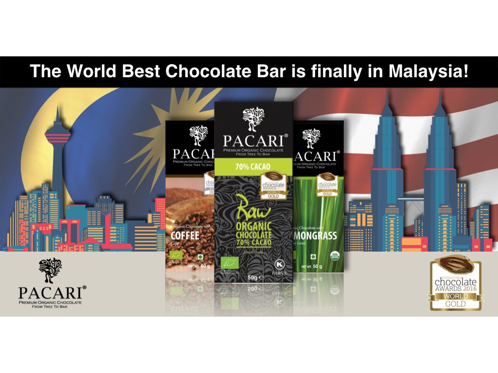 Good News! The WORLD BEST Chocolate Bar is finally in Malaysia