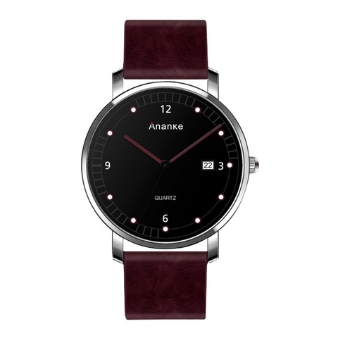 Leisure Ananke Leather Watches Red.jpg