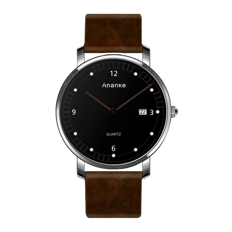 Leisure Ananke Leather Watches Brown.jpg