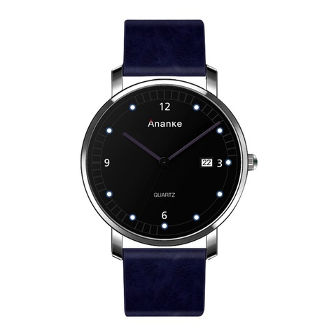 Leisure Ananke Leather Watches Blue.jpg