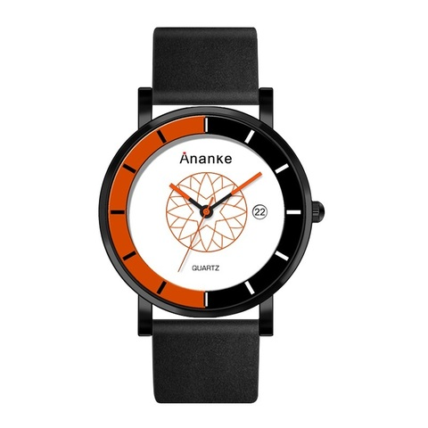 Hodler Ananke Leather Watches Orange.jpg
