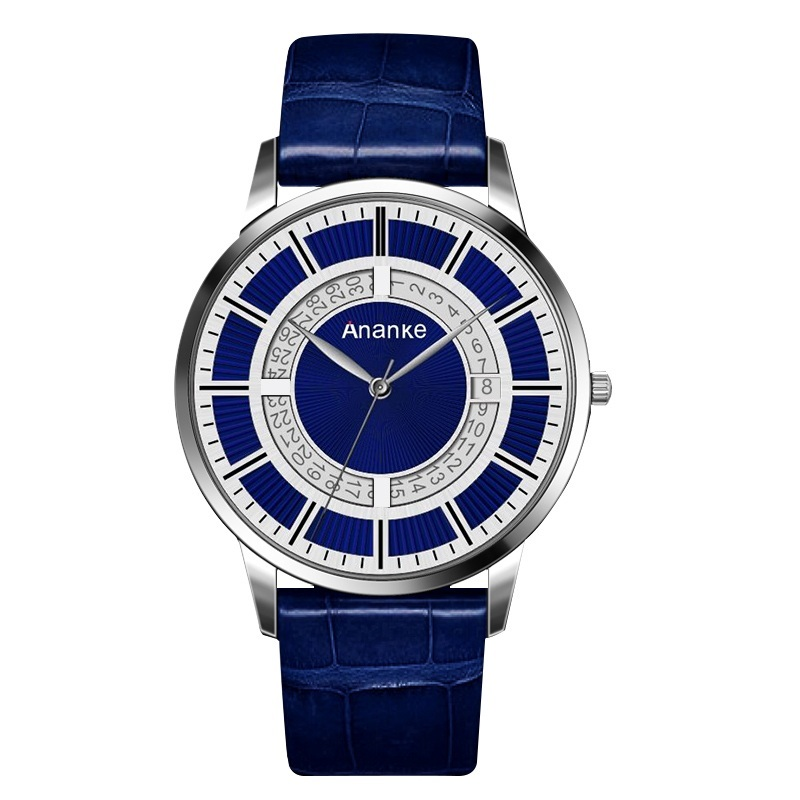 Prime Ananke Leather Watches Sliver Blue.jpg