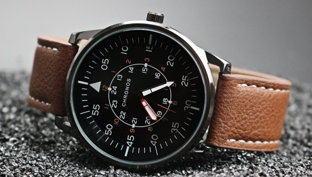 Pilot Chronos Leather Watches Brown (1).jpg
