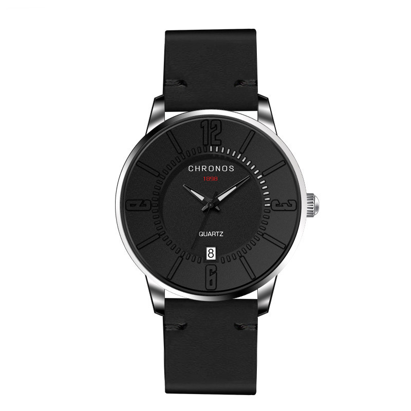 Supreme Chronos Leather Watches Black.jpg