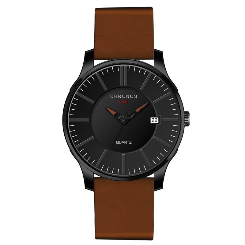 Prince Chronos Leather Watches Brown.jpg