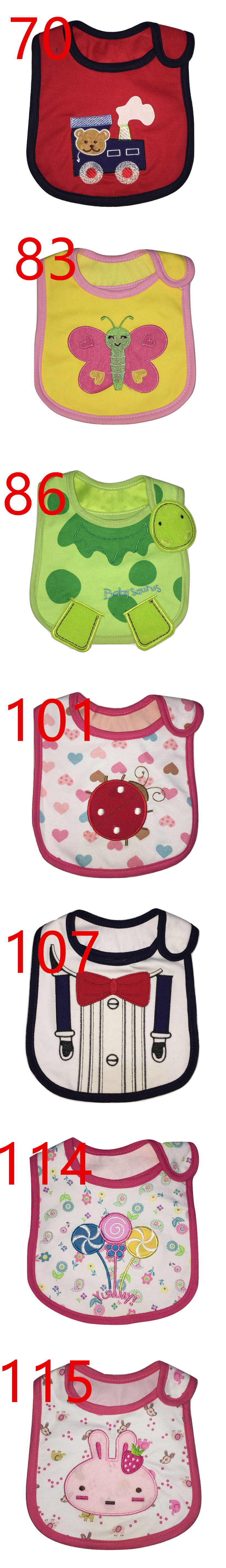 Little B House Carter's three Layer Waterproof Baby Bib -BB05-21
