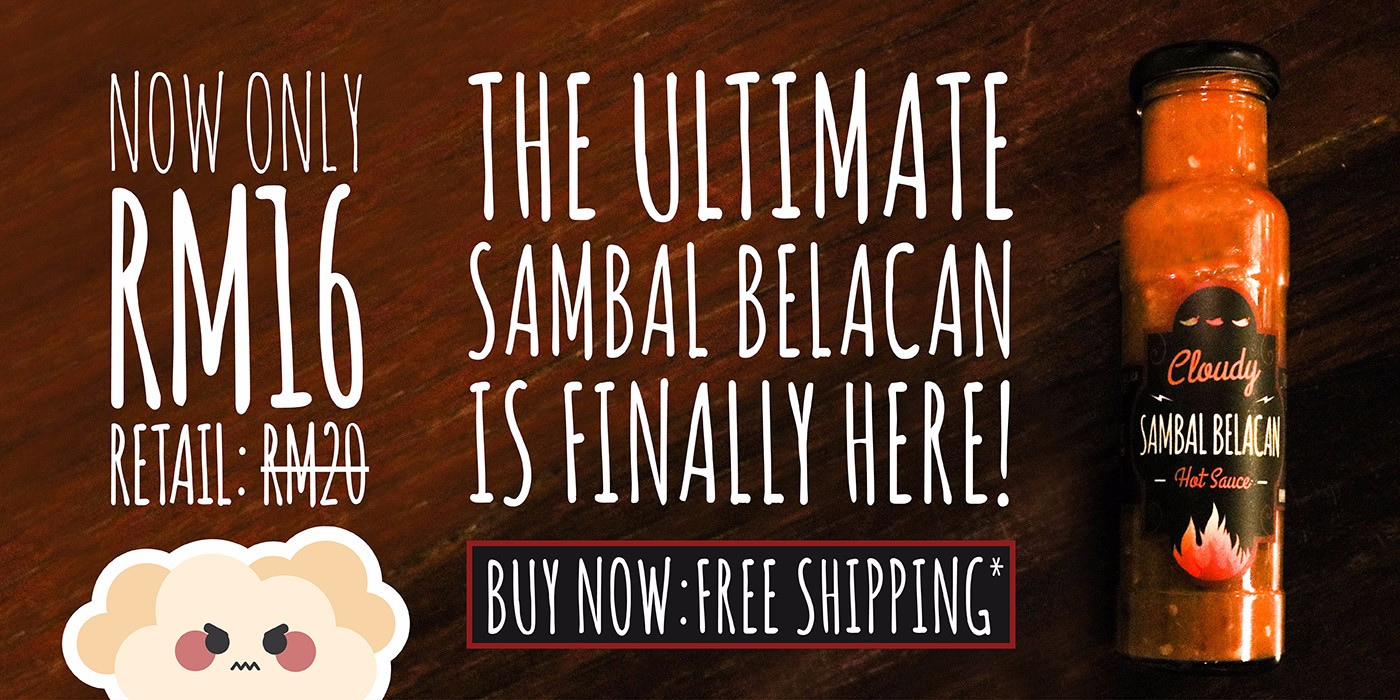 The Ultimate Ready to Eat Sambal Belacan is Here!