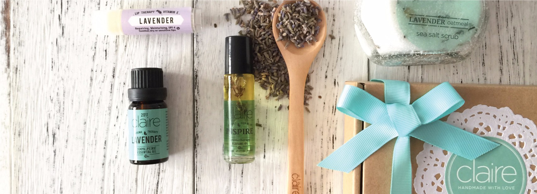 Claire Organics All-time Favourite Calming Lavender Series