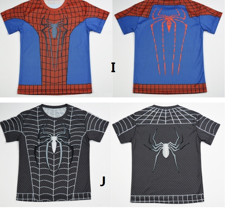 Boys Superheroes T Shirt Available In 10 Designs