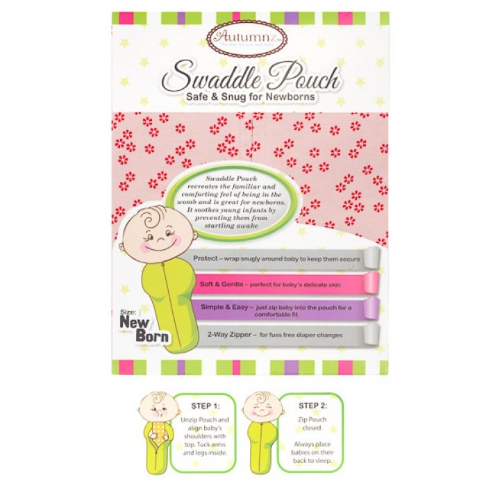 Autumnz - Swaddle Pouch (Red Flowers).jpg