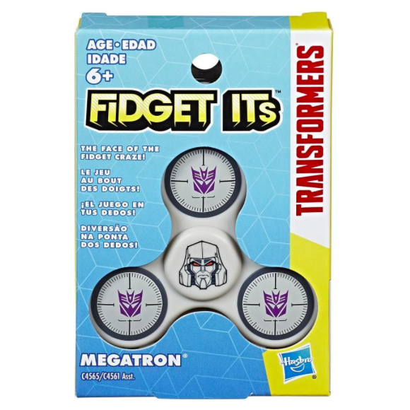Fidget Its Transformers Megatron Graphic Spinner .png