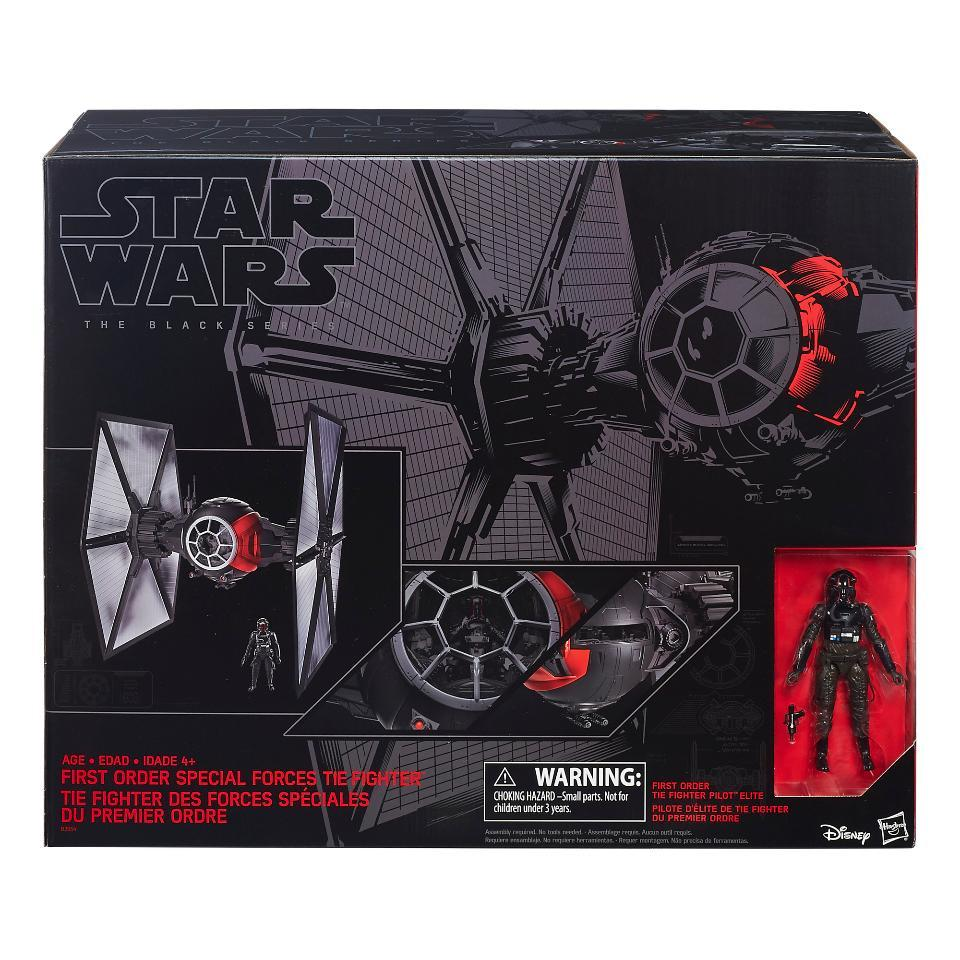 """Star Wars- The Black Series Deluxe 6"""" First Order Special Forces TIE Fighter .jpg"""