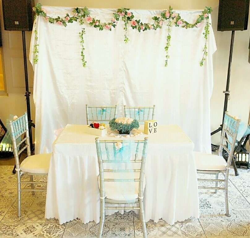 Wedding Decor Rental Singapore: ROM/Wedding Packages