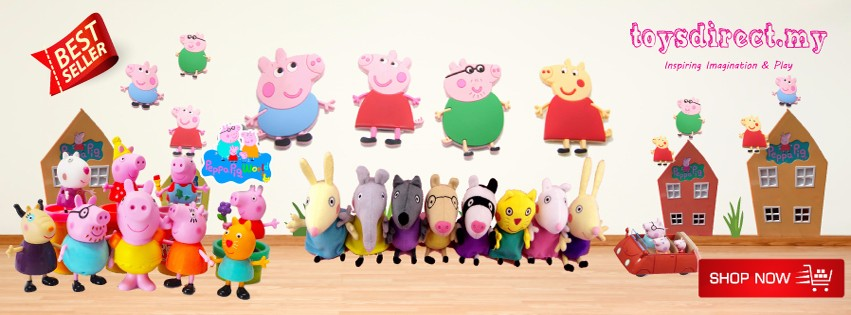 toysdirect peppa pig collection